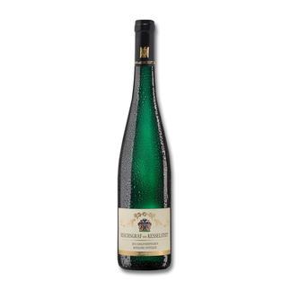"""Piesporter Goldtröpfchen Spätlese 2013, Weingut Reichsgraf von Kesselstatt, Mosel, Deutschland """"… klar, präzise, rein, intensiv und pikant."""" (Robert Parker, robertparker.com, Wine Advocate 217, 02/2015)"""