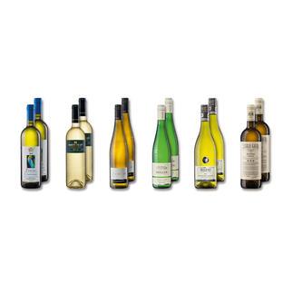 """Probierpaket """"Weißweine Frühjahr 2016"""", 12 Flaschen Probierpaket Weißweine, 12 Flaschen"""