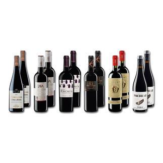 """Probierpaket """"Rotweine bis 10 € Sommer 2016"""", 12 Flaschen Probierpaket Rotweine, 12 Flaschen"""