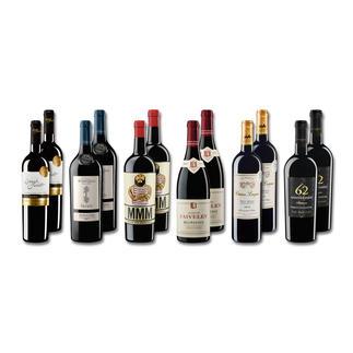 """Probierpaket """"Rotweine bis 20 € Sommer 2016"""", 12 Flaschen Probierpaket Rotweine, 12 Flaschen"""