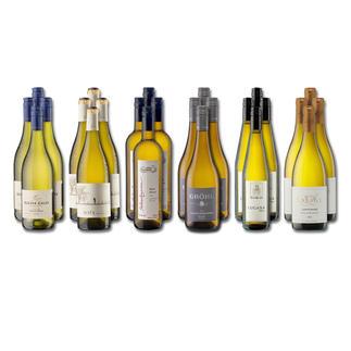 """Weinsammlung """"Die kleine Weißwein-Sammlung Sommer 2016"""", 24 Flaschen Wenn Sie einen kleinen, gut gewählten Weinvorrat anlegen möchten, ist dies jetzt besonders leicht."""