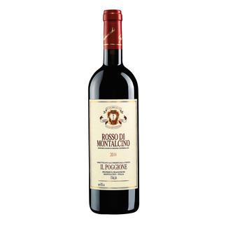 Rosso di Montalcino DOC 2014, Tenuta Il Poggione, Toskana, Italien In einigen Jahren wird der Wein von diesen Reben deutlich mehr als das Doppelte kosten.