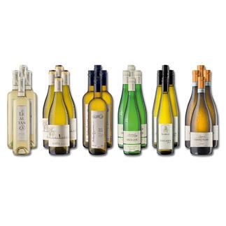 """Weinsammlung """"Die kleine Weißwein-Sammlung Herbst 2016"""", 24 Flaschen Wenn Sie einen kleinen, gut gewählten Weinvorrat anlegen möchten, ist dies jetzt besonders leicht."""
