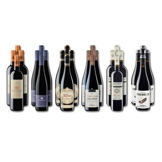 """Weinsammlung """"Die kleine Rotwein-Sammlung Herbst 2016"""", 24 Flaschen Wenn Sie einen kleinen, gut gewählten Weinvorrat anlegen möchten, ist dies jetzt besonders leicht."""