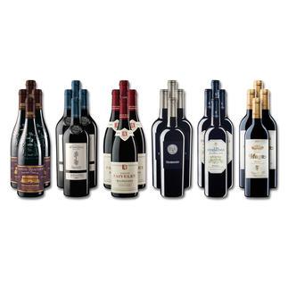 """Weinsammlung """"Die kleine Rotwein-Sammlung für anspruchsvolle Genießer Herbst 2016"""", 24 Flaschen Wenn Sie einen kleinen, gut gewählten Weinvorrat anlegen möchten, ist dies jetzt besonders leicht."""