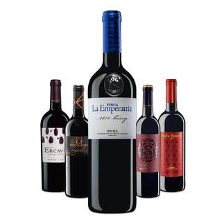 """Testpaket der Nominierten """"Tempranillo bis 10 Euro, Mai 2016"""" Pro-Idee Wine Competition"""