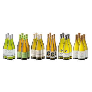 """Weinsammlung """"Die kleine Weißwein-Sammlung Frühjahr/Sommer 2017"""", 24 Flaschen Wenn Sie einen kleinen, gut gewählten Weinvorrat anlegen möchten, ist dies jetzt besonders leicht."""