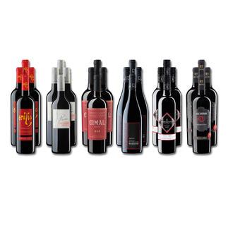 """Weinsammlung """"Die kleine Rotwein-Sammlung Frühjahr 2019"""", 24 Flaschen Wenn Sie einen kleinen, gut gewählten Weinvorrat anlegen möchten, ist dies jetzt besonders leicht."""
