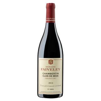 Chambertin Clos de Bèze Grand Cru 2014, Domaine Faiveley, Burgund, Frankreich Le Chambertin. Der Lieblingswein von Kaiser Napoléon.