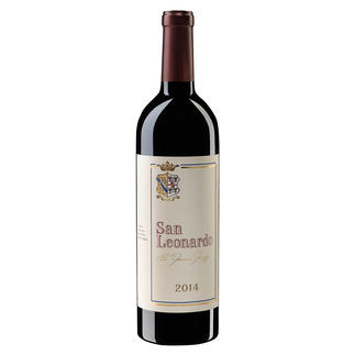 San Leonardo 2014, Tenuta San Leonardo, Trentino, Italien Sieben (!) Mal die Höchstbewertung. (Civiltadelbere.com, Il Top Delle Guide Vini 2019.)