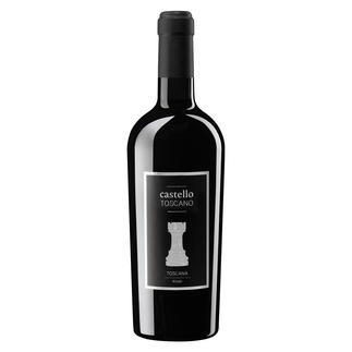 """Castello Toscano IGT 2017, Riolite Vini Srl, Toskana, Italien """"Einer der besten Rotweine des Jahres. 99 Punkte."""" (Luca Maroni, Annuario dei Migliori Vini Italiani 2019 über den Jahrgang 2016)"""