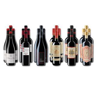 """Weinsammlung """"Die kleine Rotwein-Sammlung Frühjahr/Sommer 2020"""", 24 Flaschen Wenn Sie einen kleinen, gut gewählten Weinvorrat anlegen möchten, ist dies jetzt besonders leicht."""
