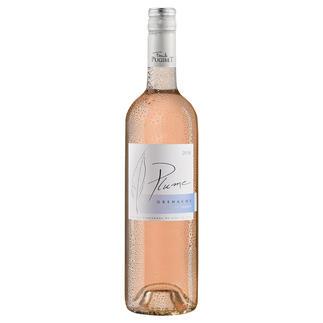 Plume Rosé 2019, Domaine La Colombette, Coteaux du Libron, Languedoc, Frankreich Trocken. Nur 9 % Alkohol. Aber 100 % Genuss.