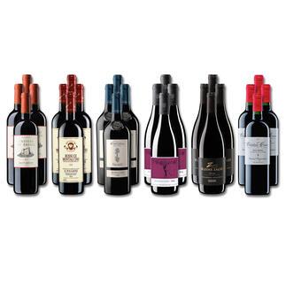 Weinsammlung - Die kleine Rotwein-Sammlung für anspruchsvolle Genießer Sommer 2020, 24 Flaschen Wenn Sie einen kleinen, gut gewählten Weinvorrat anlegen möchten, ist dies jetzt besonders leicht.