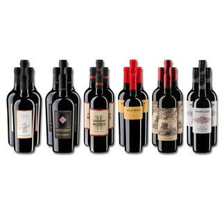 Weinsammlung - Die kleine Rotwein-Sammlung Frühjahr/Sommer 2021, 24 Flaschen Wenn Sie einen kleinen, gut gewählten Weinvorrat anlegen möchten, ist dies jetzt besonders leicht.