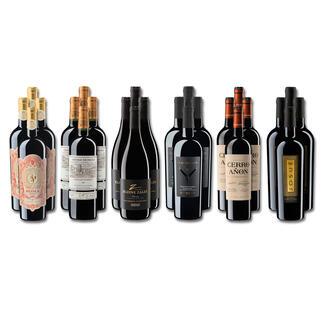 Weinsammlung - Die kleine Rotwein-Sammlung für anspruchsvolle Genießer Frühjahr/Sommer 2021, 24 Flaschen Wenn Sie einen kleinen, gut gewählten Weinvorrat anlegen möchten, ist dies jetzt besonders leicht.