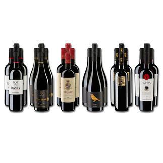 Weinsammlung - Die kleine Rotwein-Sammlung für anspruchsvolle Genießer Sommer 2021, 24 Flaschen Wenn Sie einen kleinen, gut gewählten Weinvorrat anlegen möchten, ist dies jetzt besonders leicht.
