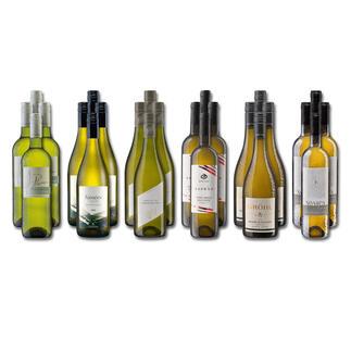 Weinsammlung - Die kleine Weißwein-Sammlung Herbst 2021, 24 Flaschen Wenn Sie einen kleinen, gut gewählten Weinvorrat anlegen möchten, ist dies jetzt besonders leicht.
