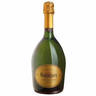 """Champagner """"R"""" de Ruinart Brut, Champagne AOC, Reims, Frankreich Serviert im Elysée-Palast, beim Jungfernflug der Concorde und jetzt bei Ihnen."""
