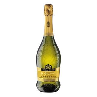 """Prosecco """"il Fresco"""", Villa Sandi, Venetien, Italien Dreizehnmal (!) in Folge """"Prosecco des Jahres"""". (Weinwirtschaft 2006 bis 2018, jeweils Ausgabe 1 des Folgejahres)"""