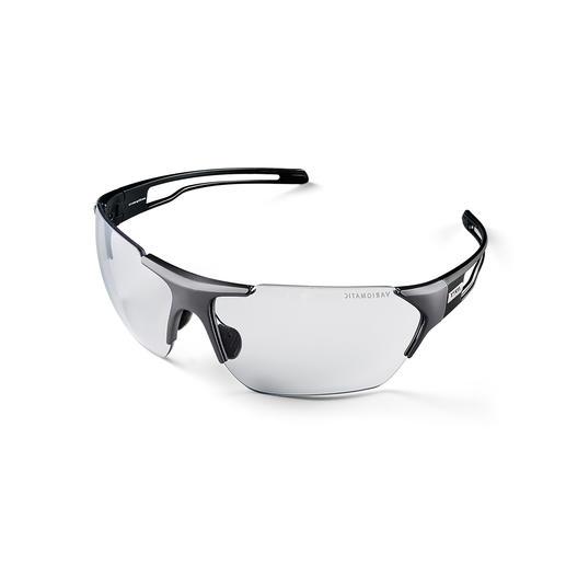 uvex Variomatic-Sonnenbrille - Sonnenbrillen-Technologie neuester Stand: sicherer, komfortabler, leichter.