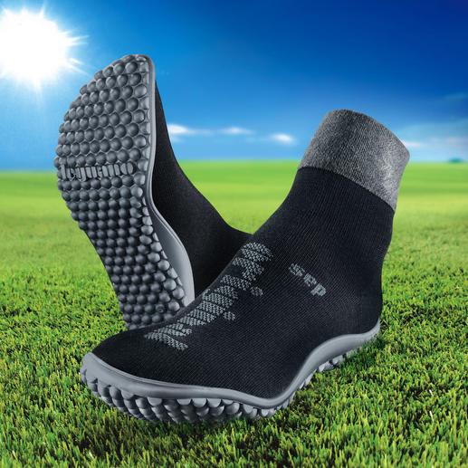 barfuß-leguanito®, barfuß-leguano® premium oder barfuß-leguano® Ballerina - Gesund und entspannend wie Barfußlaufen.