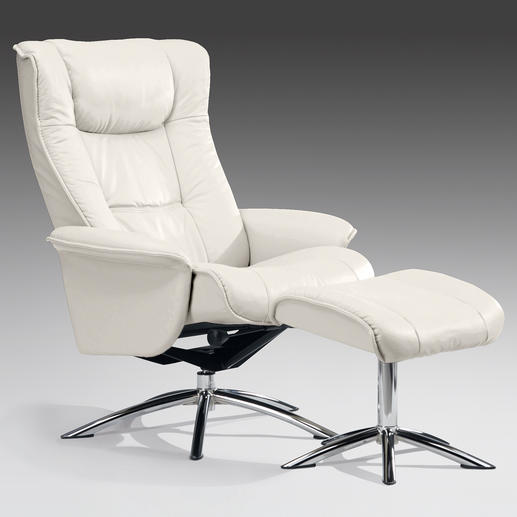 Sitwell Relax-Sessel mit Hocker - Entwickelt in Zusammenarbeit mit Orthopäden, Arbeitsmedizinern und Sportwissenschaftlern.