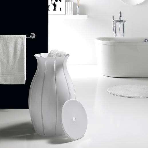 """Wäschekorb """"Amphora"""" Ein Blickfang in Ihrem edlen Bad. Italienisches Design. Ausgezeichnet mit dem """"Good Design Award"""" 2009."""
