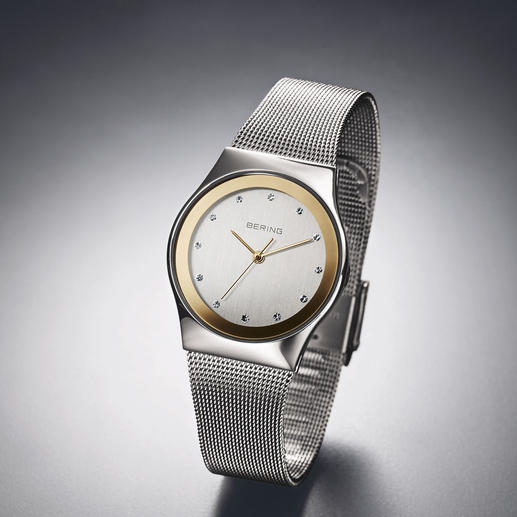 Bering Damen-Funk-Armbanduhr - Dänisches Design. Deutsches Präzisions-Uhrwerk. Erschwinglicher Preis. Die Damen-Funkuhr von Bering.