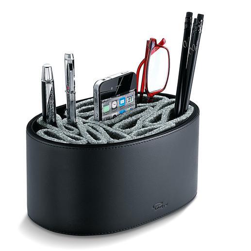 Flexo Filz-Köcher - Der bessere Platz für Ihre Stifte. Und Kratzschutz für Handy, Lesebrille, …