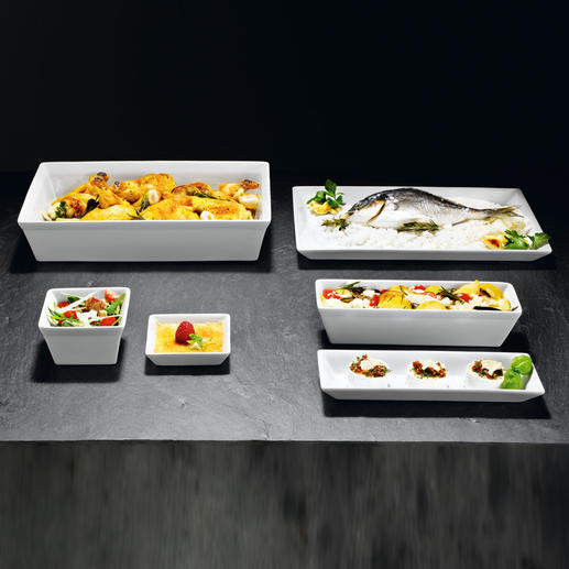 ASA-Formen Backen, gratinieren, gefrieren. Anrichten und servieren – wie im Gourmet-Restaurant.