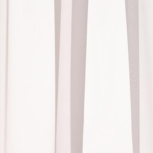 Store Klassik Ganz schlicht. Ganz pflegeleicht. (Und ganze 2,90 Meter breit.) Der klassisch weiße Store aus duftigem Voile.