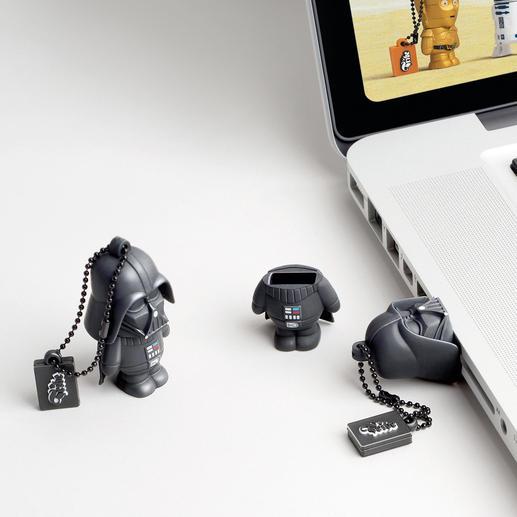 Im Kopf jeder Figur verbirgt sich ein 8 GB USB-Stick.