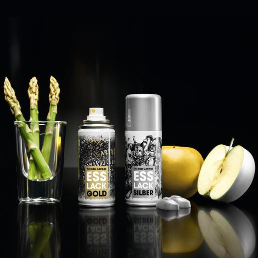 Esslack - Die erste Lebensmittelfarbe aus der Sprühdose.
