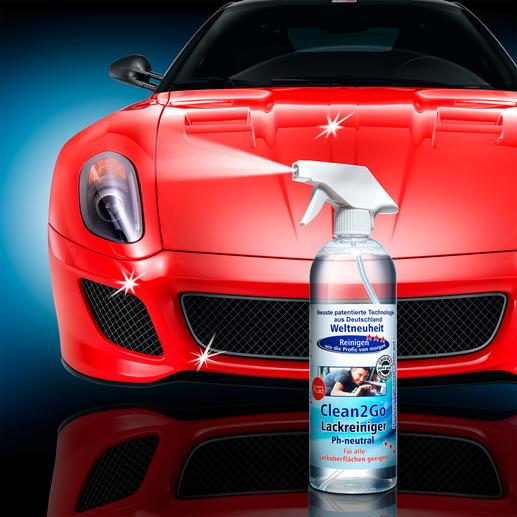Clean2Go, 750-ml-Pumpsprühflasche - Blitzblanke Felgen und tadelloser Lackglanz: schnell und einfach wie nie.