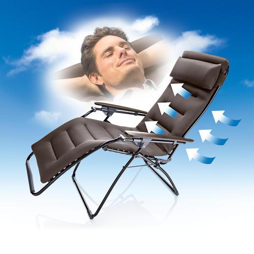 """Lafuma """"Futura Clippe Air Comfort®"""" Standard oder Superior - Perfekte Entspannung: Erleben Sie die Ruheposition der Astronauten beim Flug ins All."""