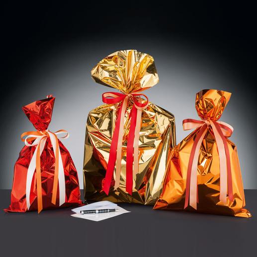 """In einigen wenigen Luxusshops sieht man sie bereits: die charmanten, edlen Geschenk-""""Bonbons"""", die auch noch verblüffend schnell und einfach herzustellen sind."""
