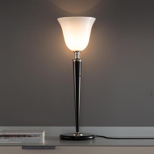 Mazda-Lampe - Authentische Reproduktion eines Art Déco-Klassikers. In Deutschland gefertigt.