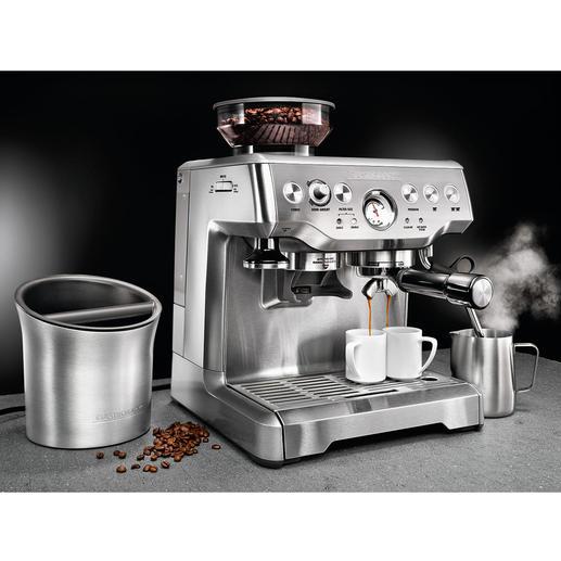 Siebträger Advanced Pro GS Endlich eine professionell ausgestattete Siebträger-Maschine, die bei weitem keine 1.500,– € kostet.