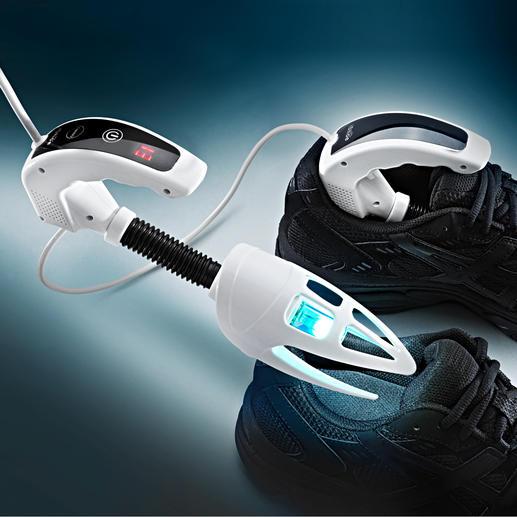 iShoe UV-C-Desinfizierer - Die wirksame Waffe gegen Bakterien, Keime und Gerüche in Schuhen.
