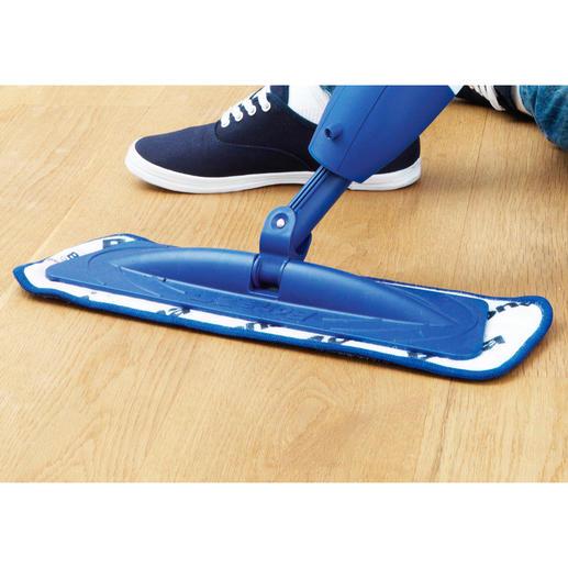 Mit dem extrem wendigen Mopp gelangen Sie leicht auch in Ecken, Nischen und unter Möbel – ca. 12 cm Bodenfreiheit genügen.
