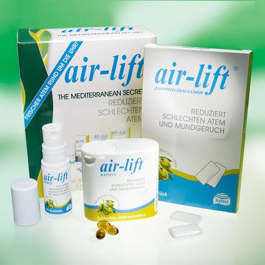 Air-Lift® Atemfrische-Set, 3-teilig - Air-lift® bekämpft Mundgeruch statt ihn zu überdecken. US-patentierte Formel für frischen Atem.