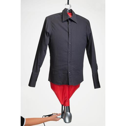 Mashati Bügel-Assistent - Ruck-zuck: tadellos glatte Hemden, Blusen, Shirts. Ohne lästiges Bügeln.