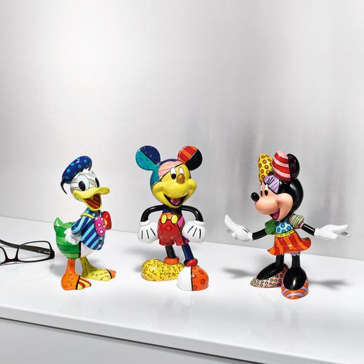 Pop-Art Figur Disney - Fröhlich, kultig, farbenfroh handbemalt. Immer einzigartig.