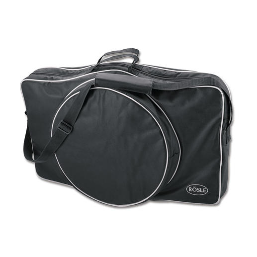 In der separat erhältlichen Transporttasche verstauen Sie Grill und Zubehör bis zum nächsten Einsatz.