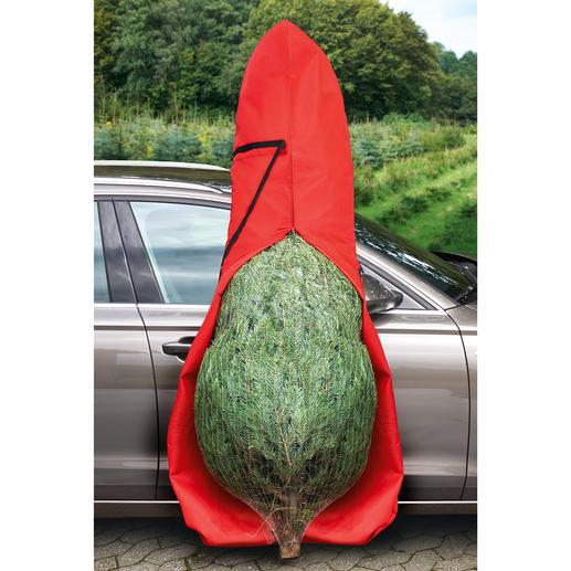 Tannenbaum-Tasche - Keine Nadeln im Auto, in der Wohnung. Passend für Bäume bis 2,50 Meter Höhe.
