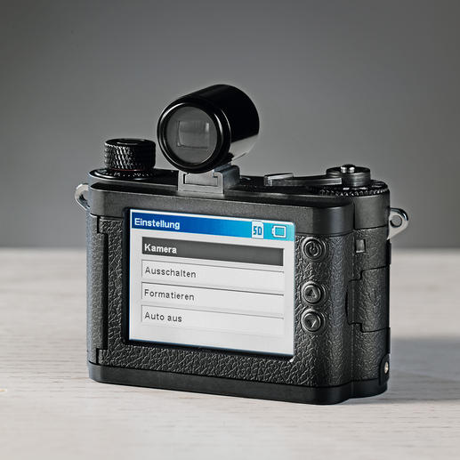 Von vorne nicht erkennbar: Die MINOX DCC 14.0 ist mit allen zeitgemäßen Funktionen ausgerüstet.