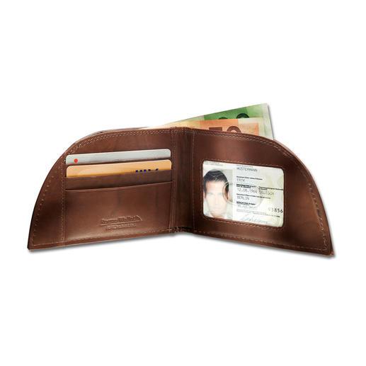 Rogue Wallet Pocket-Börse - Für die vordere Hosentasche. Genial geformt. Aus unverwüstlichem Bisonleder. Und mit RFID-Schutz.