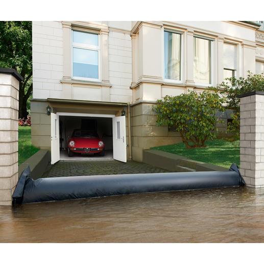 Wasserschutzschlauch - Schnelle Hilfe bei Starkregen, Hochwasser, Überflutungen.