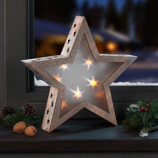Hologramm-Stern - Stimmungsvolles Sternenlicht, das jeden Raum verzaubert.